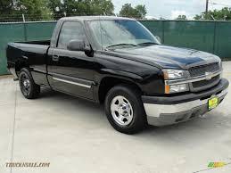 2004 Chevrolet Silverado 1500 Regular Cab in Black - 207452 ...