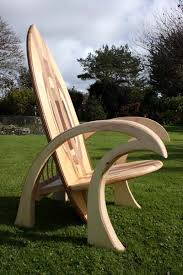 surfboard furniture. jimagination creations surfboard chair furniture