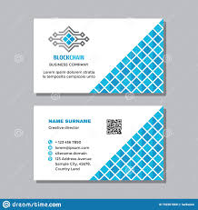 Computer Card Design Business Visit Card Template With Logo Concept Design