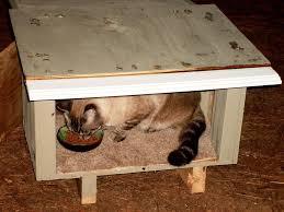 diy heated outdoor cat shelter