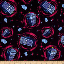 BBC Doctor Who Flannel Telephone Police Box Blue - Discount ... & BBC Doctor Who Flannel Telephone Police Box Blue - Discount Designer Fabric  - Fabric.com Adamdwight.com