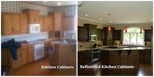 refinishing kitchen cabinets remodeling