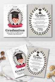 Happy Graduation Invitation Templates With Olive Branches
