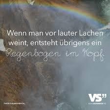 Wen Man Vor Lauter Lachen Weint Entsteht Uebrigens Ein Regenbogen