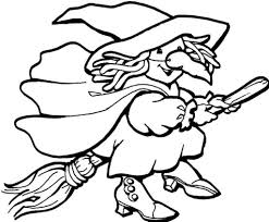 Small Picture Easy Witch Coloring Page Coloring Coloring Pages
