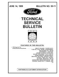 Technical Service Bulletin Manualzz Com