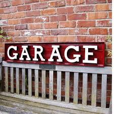 garage 3d letter set