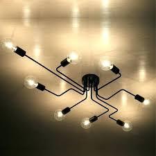 copper pipe light fixture industrial pipe lighting black retro industrial loft ceiling lamp home decor conduit pipe light fixture for diy copper pipe