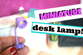 how to make a miniature lamp