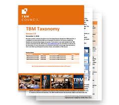 The Tbm Taxonomy