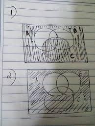 A Ub Venn Diagram Which One Is The Venn Diagram For Aub Uc Brainly A Ub Venn Diagram