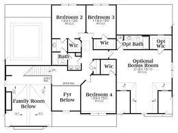 4 bedroom house plans with bonus room elegant two bedroom house plans with bonus room beautiful