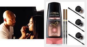 l oréal paris celebrity makeup artist promotes brow s