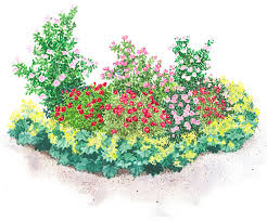 Small Picture Garden Plans Featuring Roses
