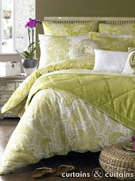 Green Duvet Covers Uk - Cbaarch.com & Elizabeth Hurley Persian Lime Green Duvet Cover Curtains And Adamdwight.com