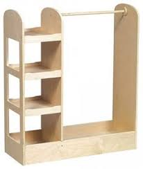 make miniature furniture. use a piece like this to make dressup spot for play zone miniature furniture