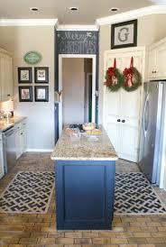 blue kitchen rugs washable area rug ideas