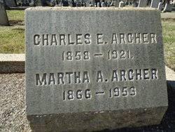 Martha Aurelia Stanley Archer (1866-1953) - Find A Grave Memorial