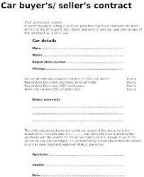 Sale Of Car Contract Private Car Sale Contract Payments Template Australia Lesquare Co