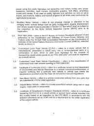 Department Order No 2010 32 Re Land Transportation Office