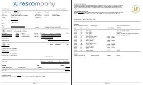 travel agency invoice format invoice template ideas custom reports rescompany systems travel agency invoice format