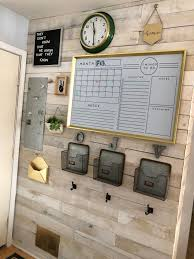 Pin by Janna Douglas on Office in 2020   Home command center, Family  command center wall, Home diy