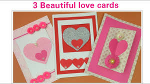 diy valentines card handmade love greeting cards for boyfriend valentine s day romantic gifts