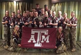 Texas A M Corps Of Cadets Texas A M Corps Of Cadets Marksmanship Unit Repeats As Sasp National