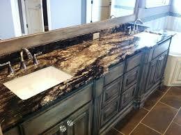black marble countertops bathroom ideas