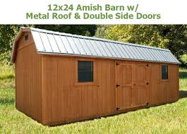 amish metal roofing w roof dbl end doors near me amish metal roofing e26