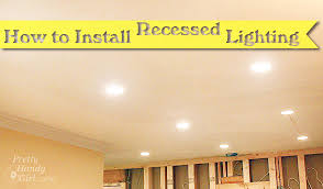 how to install recessed lights pretty handy girl how to install recessed can lights