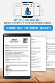 Download Pocket Resume Builder App Professional Cv Maker