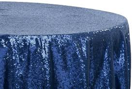 navy blue tablecloths blue table cloths excellent glitz sequins round tablecloth navy blue linens within