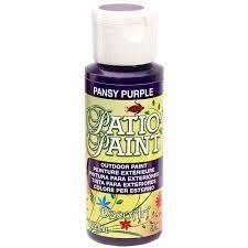 patio purple acrylic paint