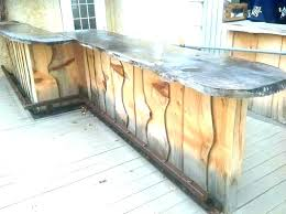 outdoor bar top ideas outdoor bar top wood bar top ideas outdoor wood bar creative patio