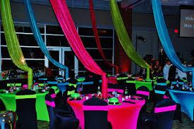 Neon Party Decorations Favors Ideas