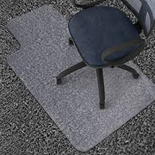 durable pvc home office chair. azadx 36u0026quot x 48u0026quot clear pvc carpet chair mat multitask home office durable pvc