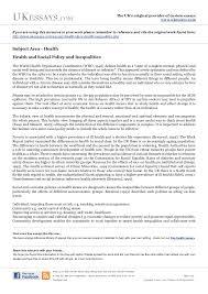 Public Health Essays Public Health Service Essay