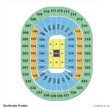 Scottrade Center Seating Chart Scottrade Center St Louis Mo Seating Chart View