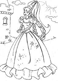 Coloring Pages Barbie Ballerina Coloring Pages Barbie Ballerina