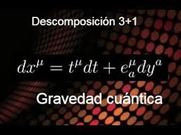 7. QFT sobre variedades curvas. Descomposición 3+1. Parte 1 - YouTube