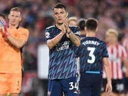 Granit Xhaka signs Arsenal contract ...