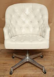 best white on tufted leather computer swivel chair ideas for executive home office furniture plan