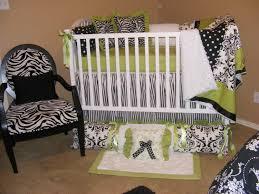 beautiful baby bedding lime green hot pink damask polka dot black and white