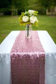 table runners wedding pack luxury pink gold silver sequin table runner wedding party table decoration solid table runners