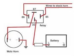 similiar horn button wiring keywords simple 12v horn wiring diagram also switch 5 pin relay wiring diagram