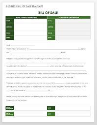 Sample Bill Of Sale For Car Pdf 15 Free Bill Of Sale Templates Smartsheet