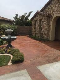 concrete patio paint or stain