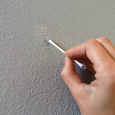 use a q tip for easy paint touch up and when your done you can