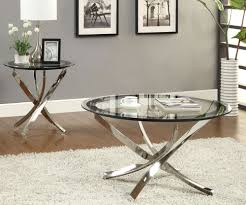 image of oval glass coffee table top